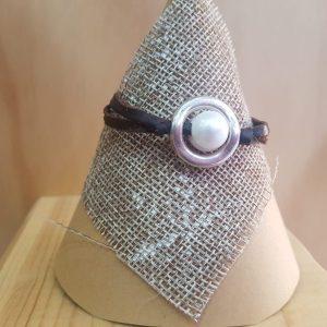 Pulsera perla anillada (chica)
